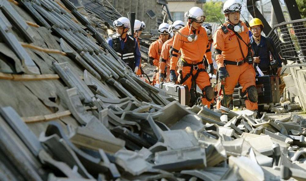 35 قتيلا حصيلة ضحايا الهزة الأرضية