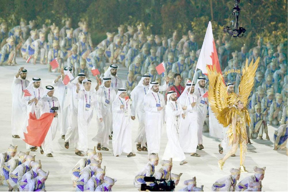 إنجاز تاريخي للبحرين بالأسياد تخطى جميع التحديات