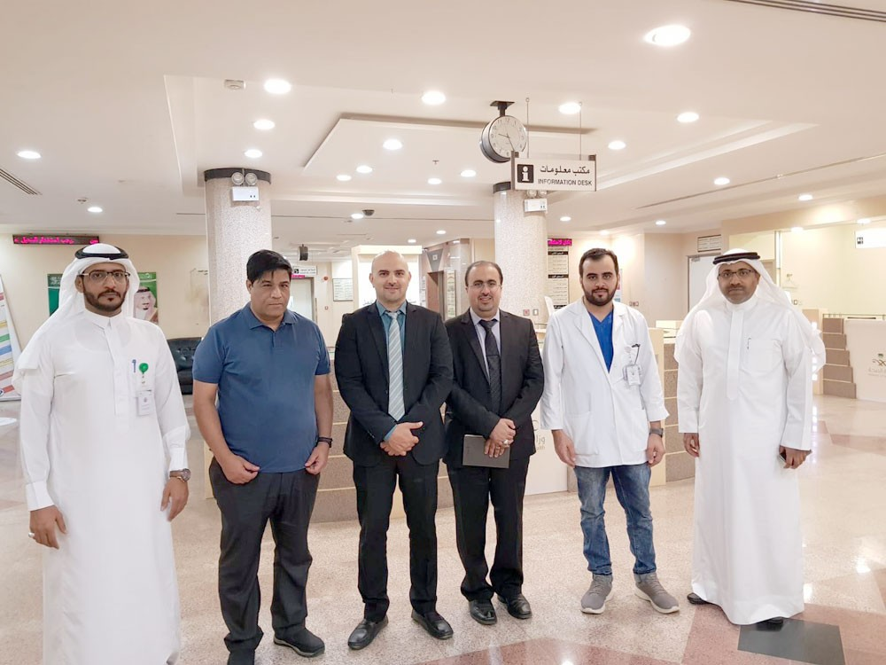الوفد الطبي يصل الرياض لمتابعة حالة المصابين في الحادث