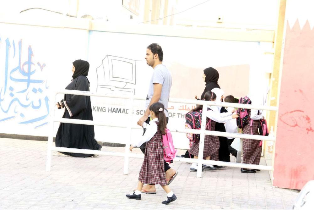المدارس تفتح أبوابها لاستقبال الطلبة اليوم