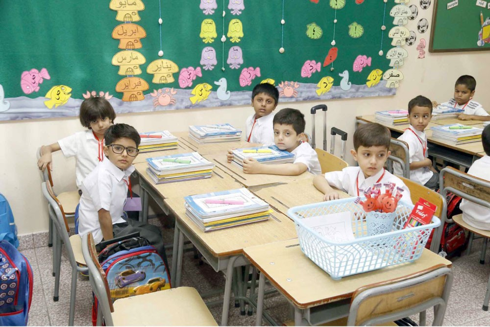 """عدسة """"البلاد"""": عودة المدارس... والزحمة والكتب القديمة"""