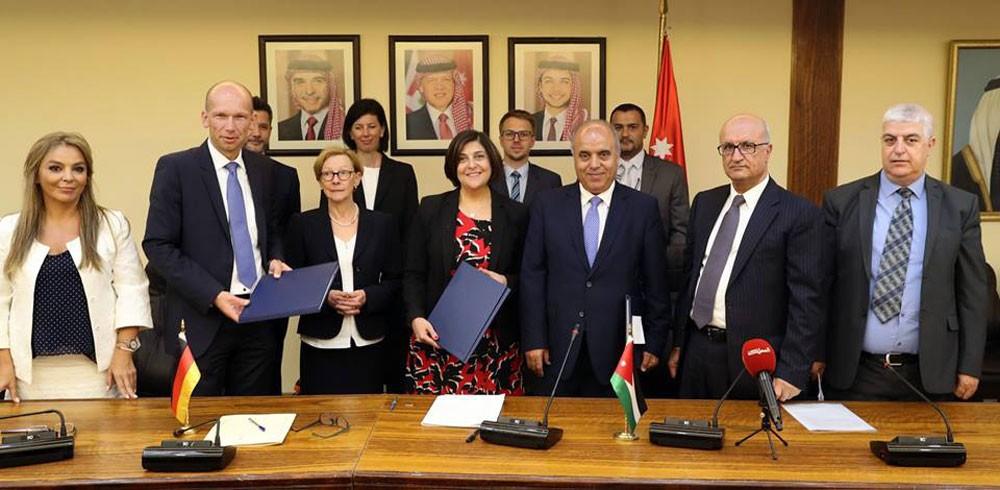 115 مليون يورو قيمة منح وقروض ألمانية للأردن