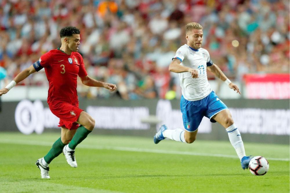 البرتغال تحرج إيطاليا ومانشيني