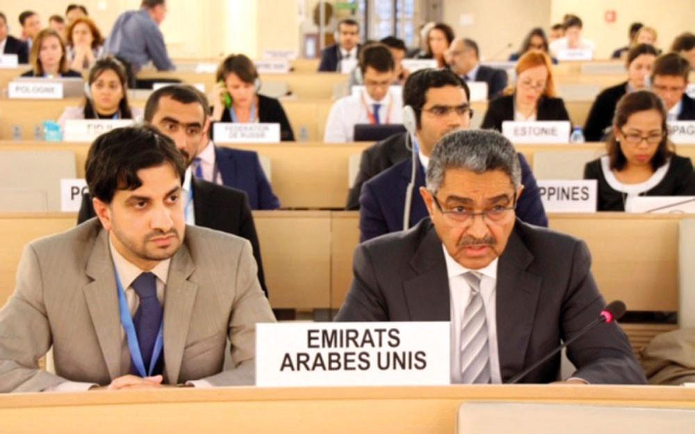 الدول الأربع تفند المزاعم القطرية بمجلس حقوق الإنسان في جنيف