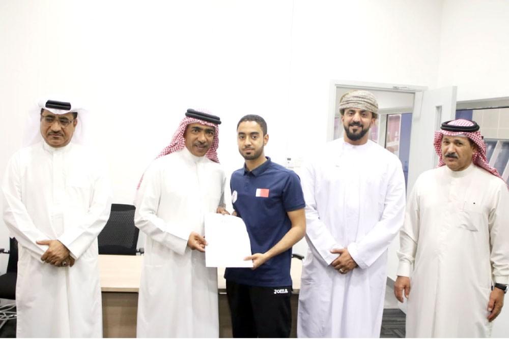 علي بن محمد يرعى ختام دورة المدربين الدولية للمستوى الأول