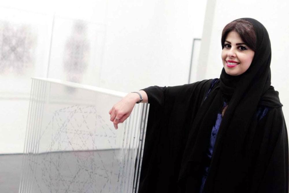 السعودية لولوة الحمود...  في بينالي لندن للتصميم