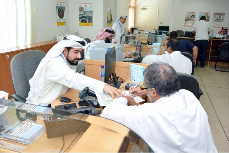 نائب مدير المرور يزور مراكز الخدمات