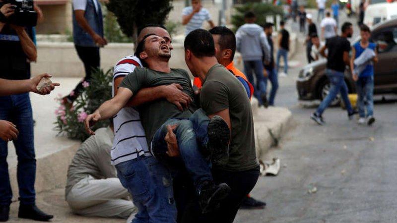 إصابات واعتقالات بين الفلسطينيين في الضفة