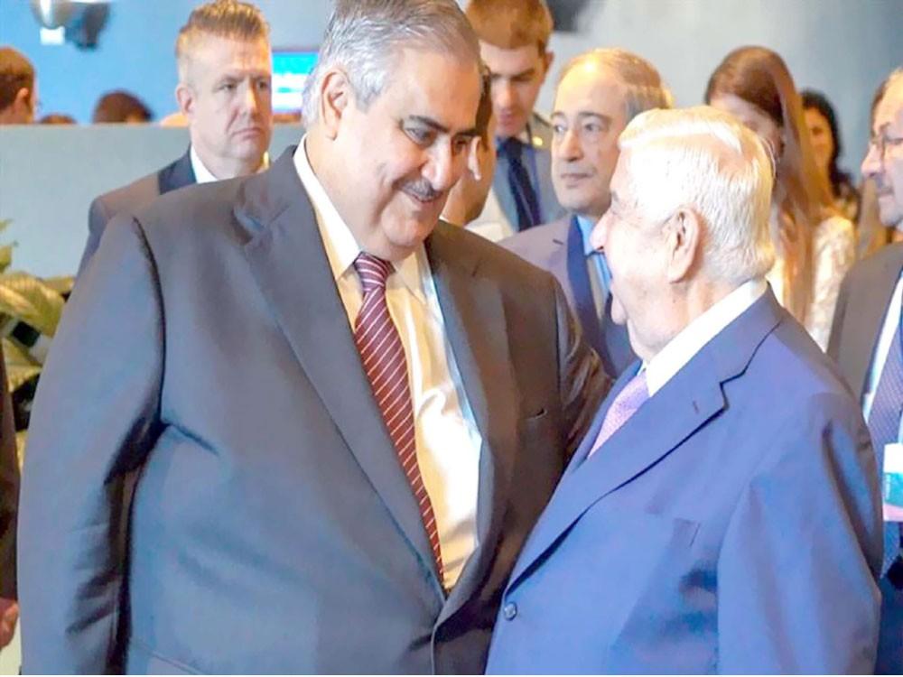 وزير الخارجية: الأراضي السورية يجب أن تعود لسيطرة الحكومة
