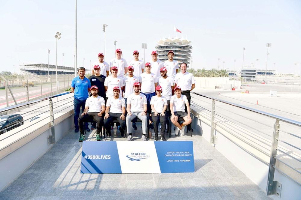 جلال يحقق المركز الأول ببرنامج السائقين الشباب