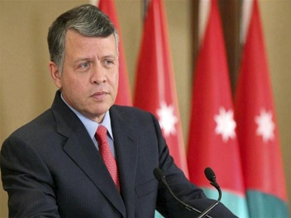 العاهل الأردني يؤكد ضرورة إحياء السلام