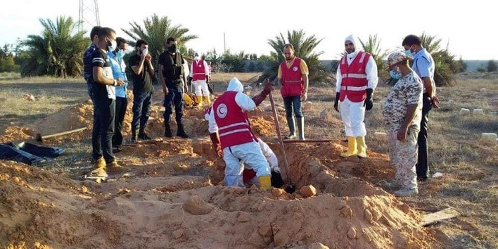 العثور على مقبرة جماعية في سرت الليبية