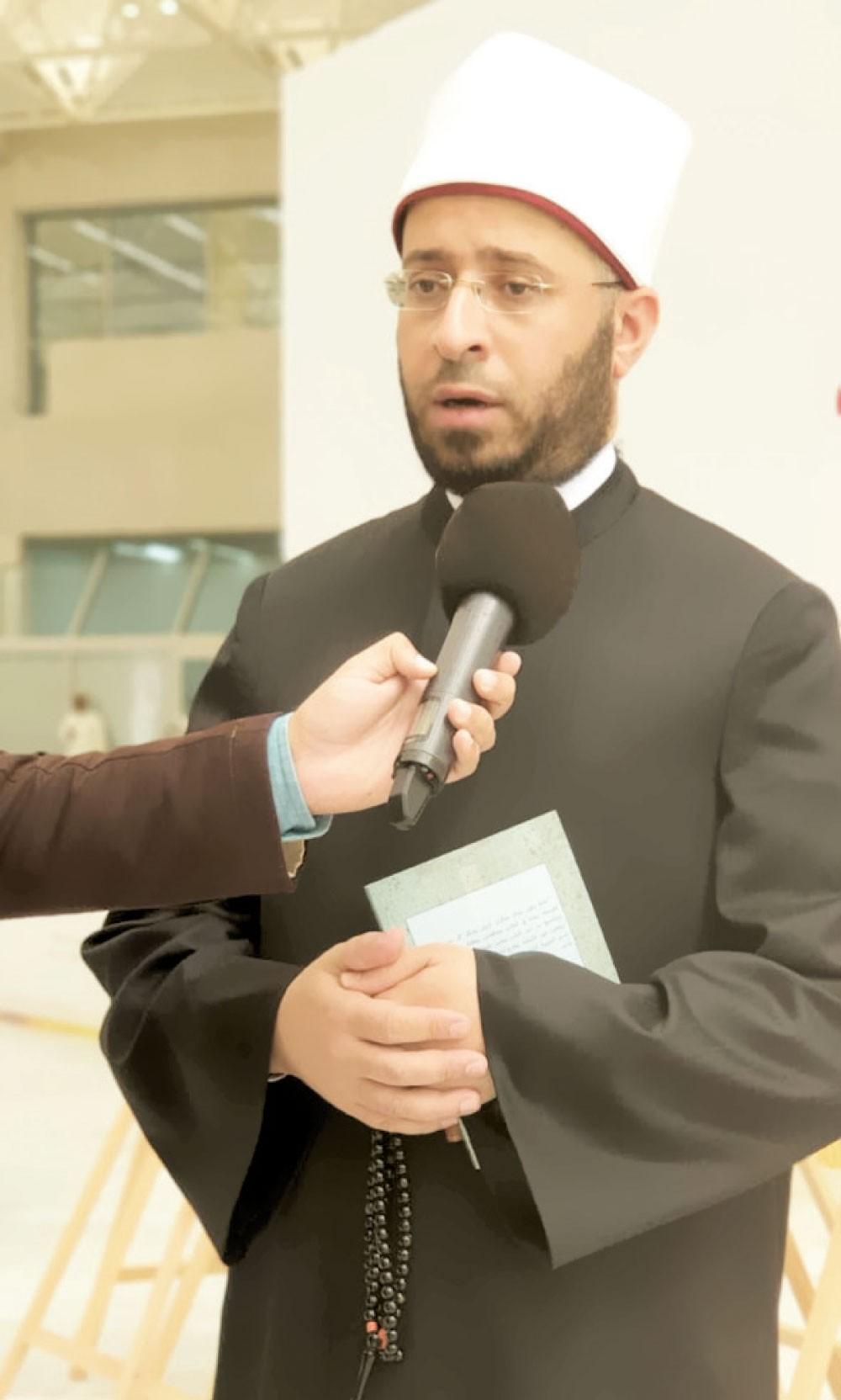 مستشار الرئيس المصري للشؤون الدينية أسامة الأزهري: مهرجان الأهرام الثقافي جسر متين بين مصر والبحرين