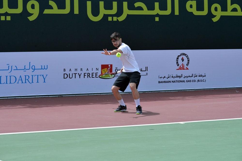 افتتاح بطولة البحرين للتنس