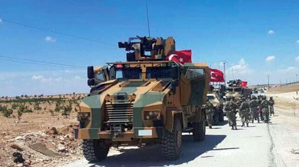 دوريات تركية أميركية في منبج