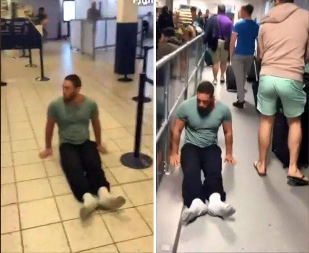 مشلول يقاضي مطارا بريطانيا