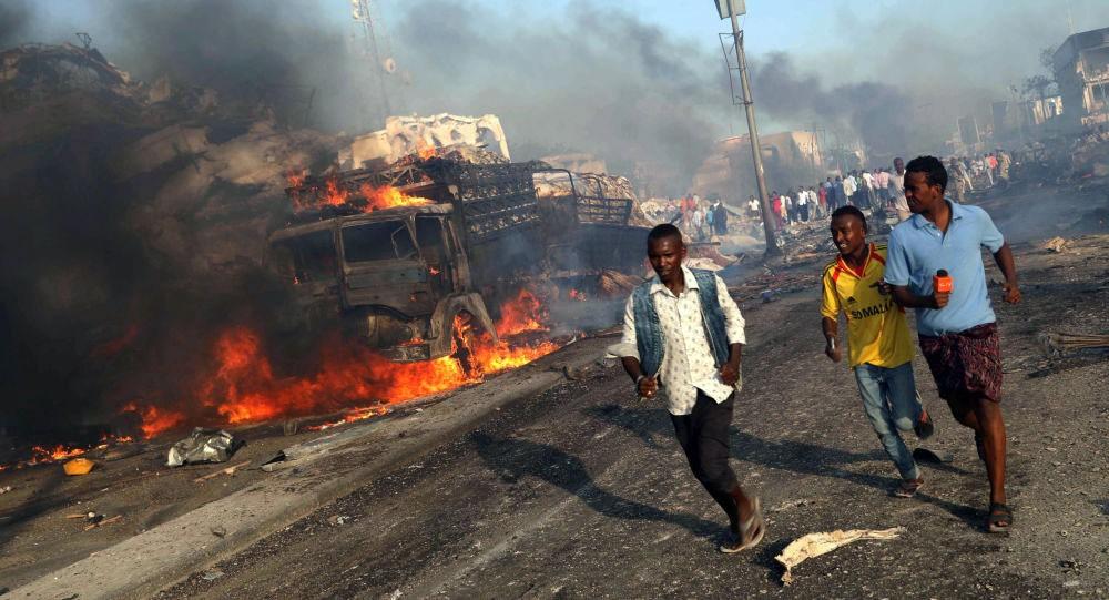 17 قتيلا بتفجيرات إرهابية تهز مقديشو