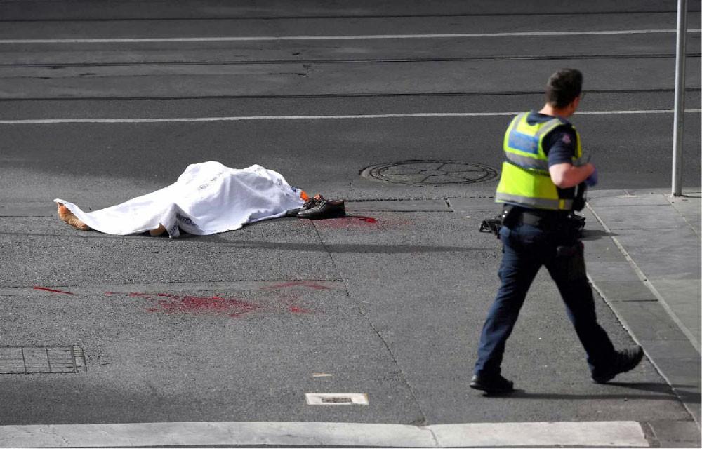هجوم إرهابي في ملبورن