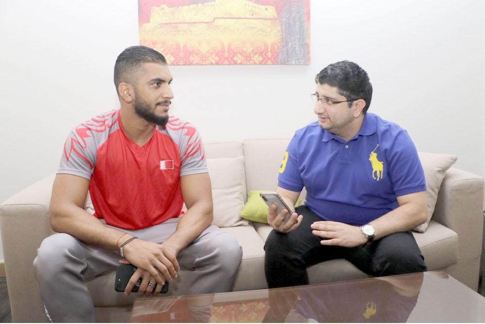 علي خميس: بطولة العالم 2019 هدفي المقبل