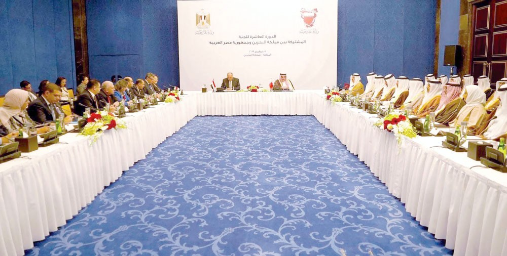 توقيع 8 اتفاقات ومذكرات تفاهم بين البحرين ومصر