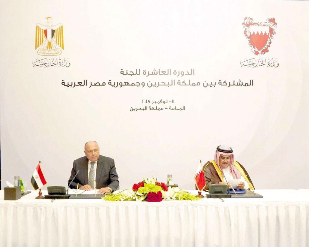 دبلوماسيان مصريان: البحرين خط الدفاع الأول عن المنطقة