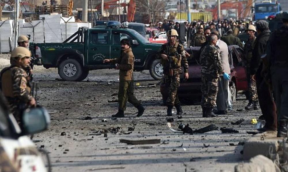 6 قتلى بانفجار ضخم  في كابول