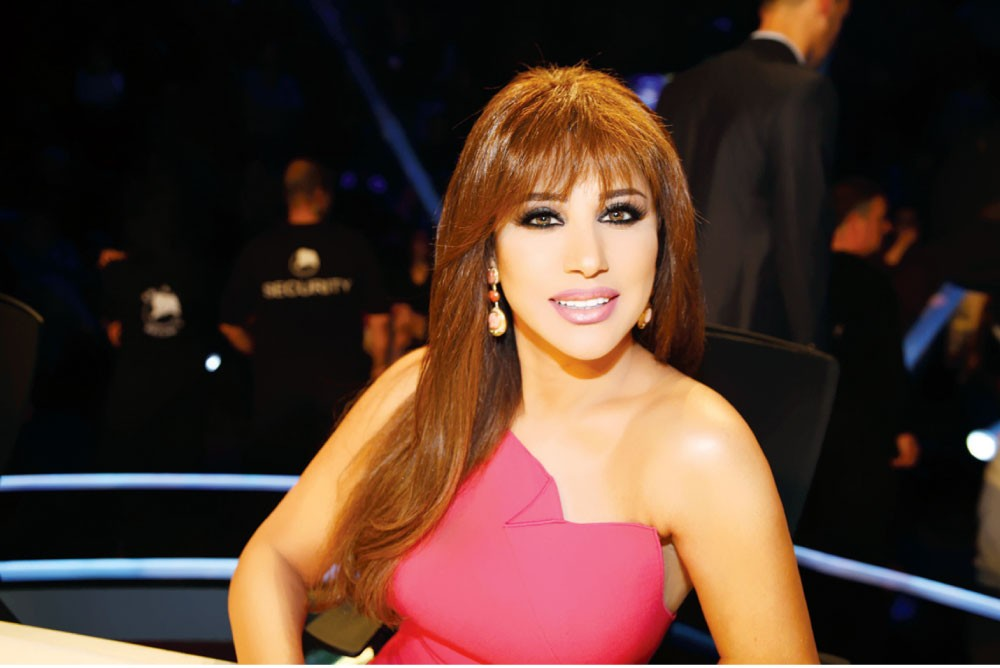 نجوى في Arabs Got Talent