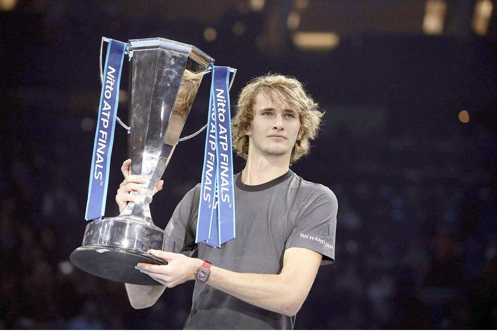 ملك التنس الجديد