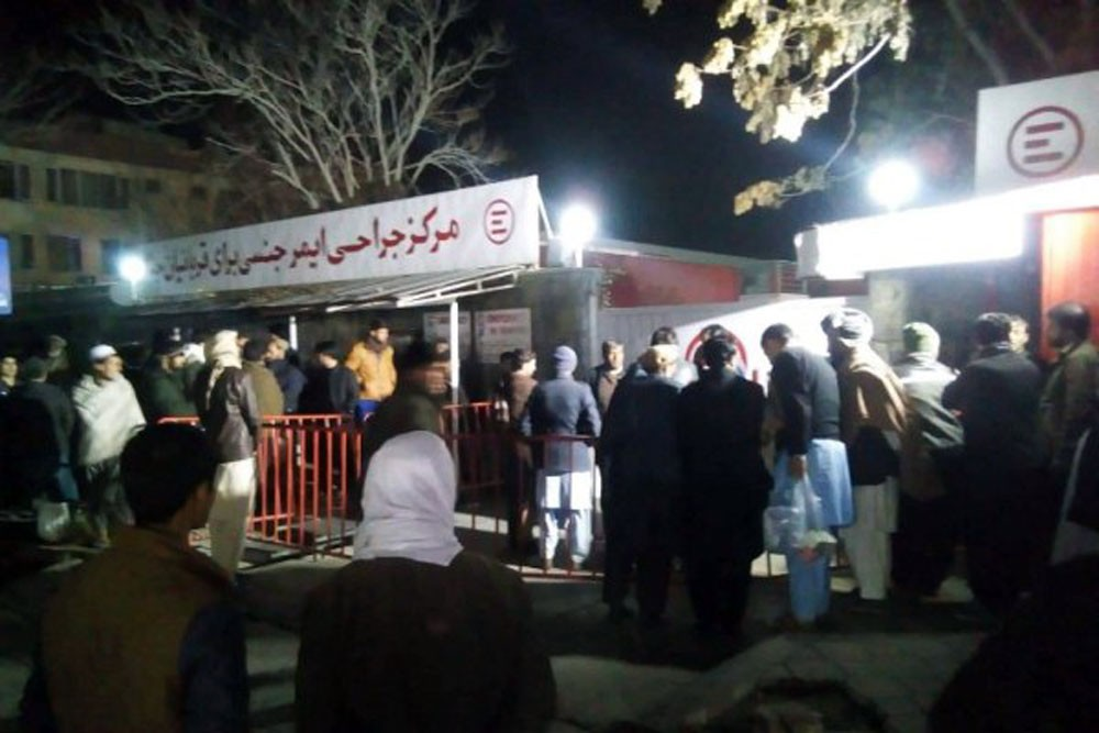 50 قتيلاً في تفجير حفل ديني بأفغانستان