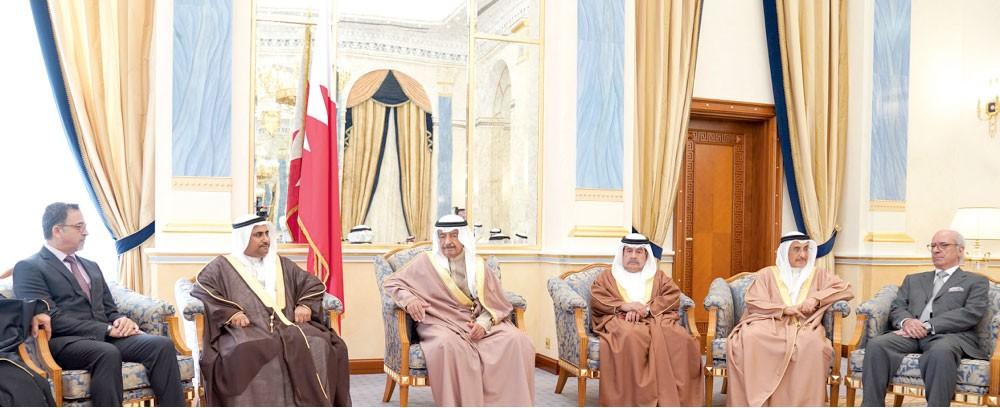 سمو رئيس الوزراء: البحرين ستبقى واحة العطاء والعزة بقيادة العاهل