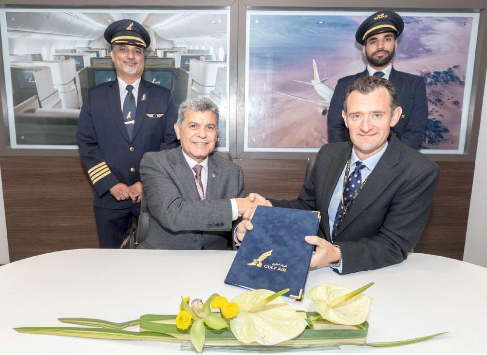 """""""طيران الخليج"""" و """"الاتحاد"""" توقعان اتفاقا لتعزيز التعاون"""