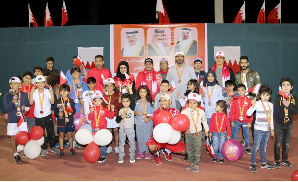 اتحاد التنس يقيم بطولة العيد الوطني