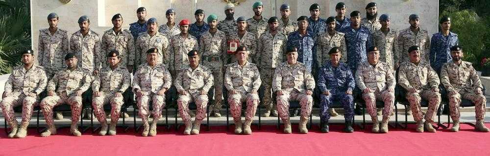 تخريج إحدى الدورات العسكرية المتخصصة للضباط