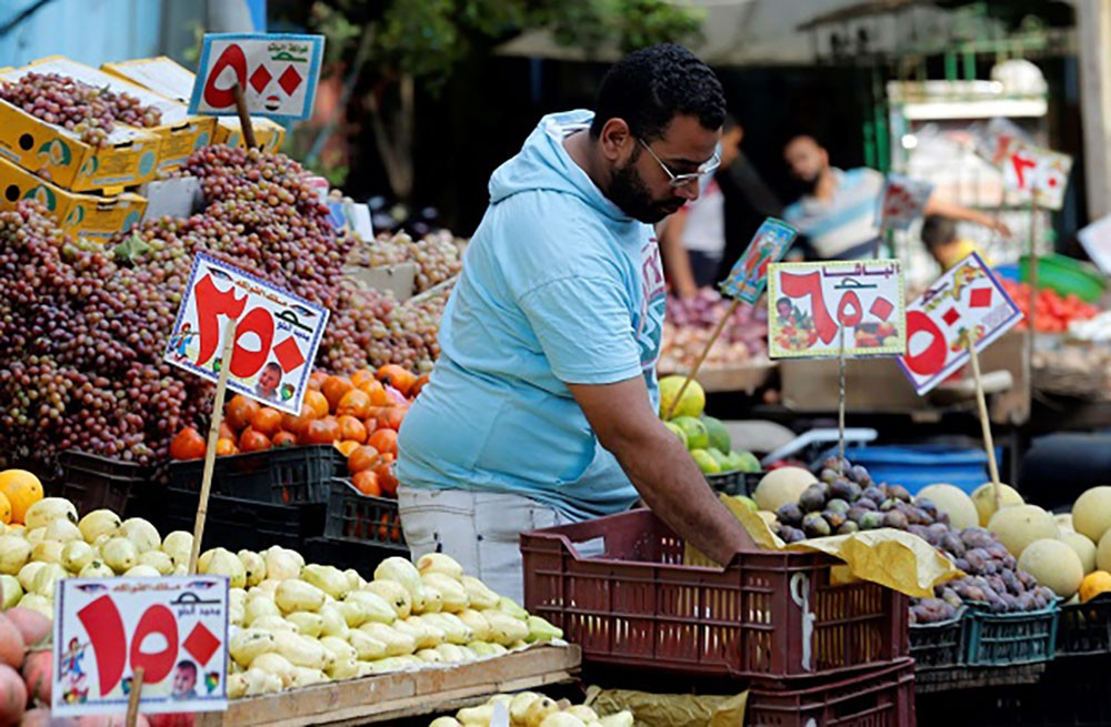 تراجع التضخم بمدن مصر إلى 12 %