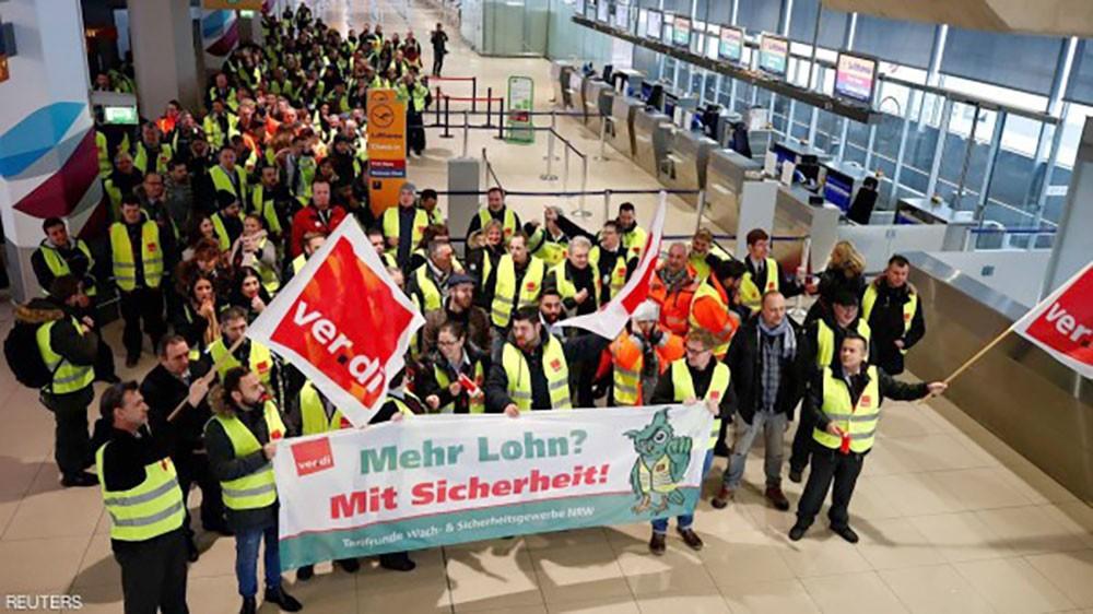 إضراب يشل مطارات ألمانية