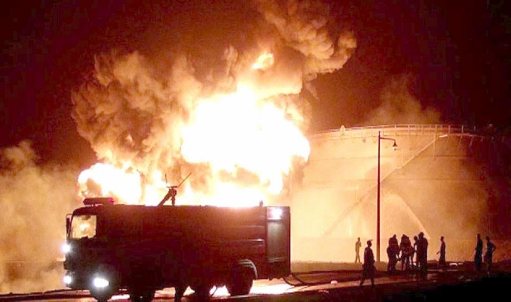 تدمير شبكة اتصالات عسكرية للحوثيين