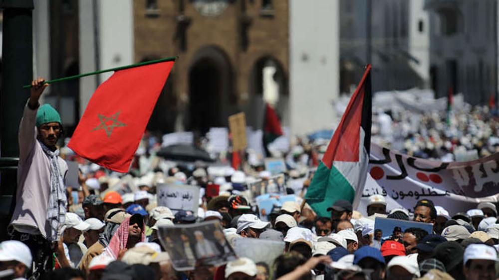 """المغرب تنفي حذف """"فلسطين"""""""