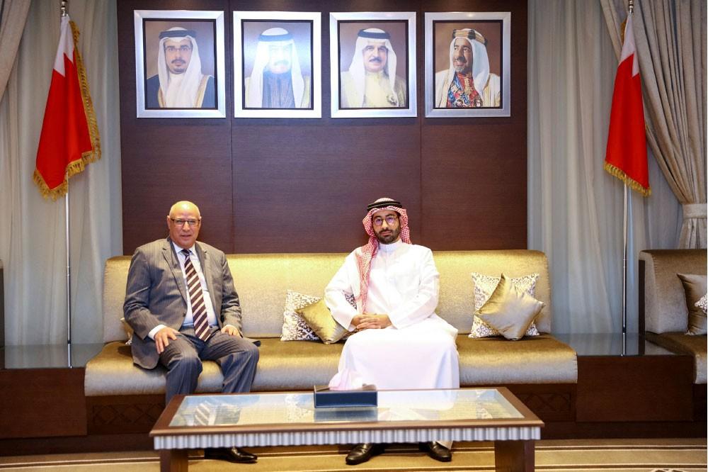 المؤيد يبحث مع السفير المغربي تطوير التعاون المشترك