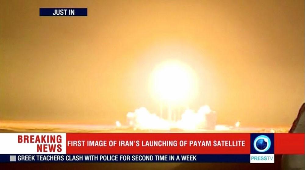 إيران تفشل في عملية إطلاق قمر صناعي
