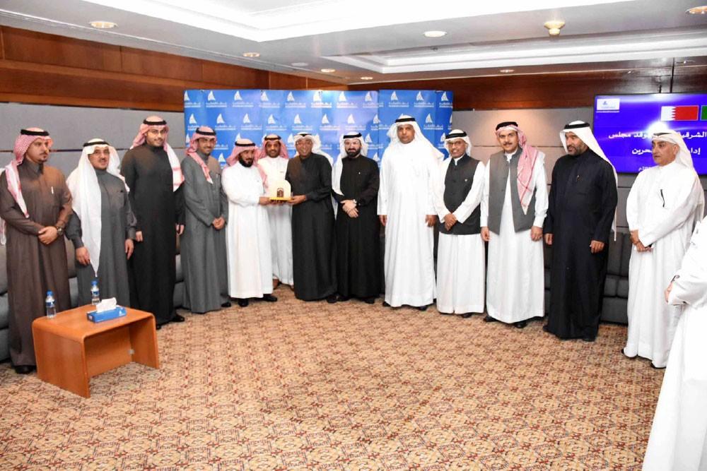 """""""غرفتا"""" البحرين والسعودية تبحثان التعاون"""
