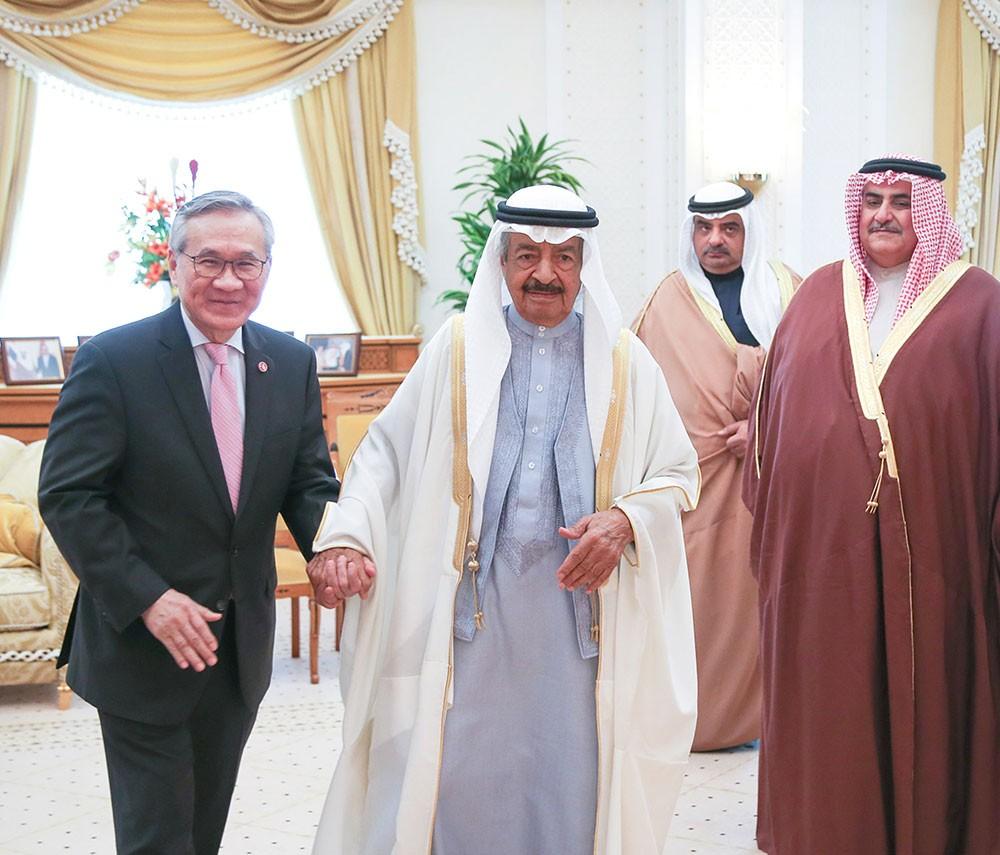 سمو رئيس الوزراء : مجالات واعدة للتعاون البحريني التايلندي