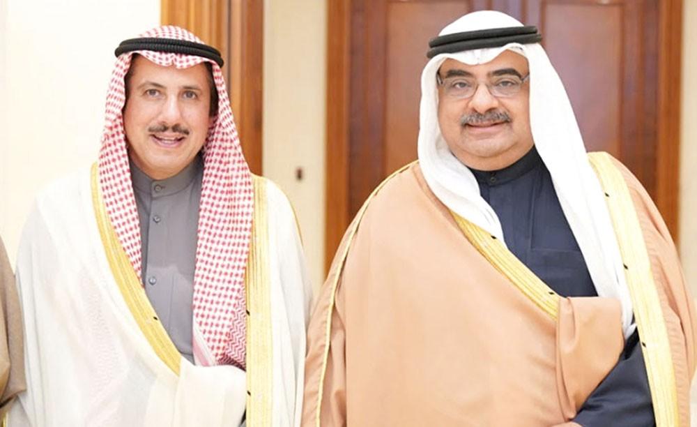 مستشار سمو رئيس الوزراء يستقبل سفير الكويت