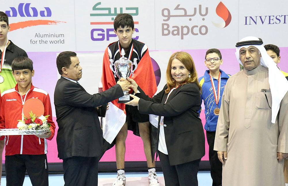 اليمني جبران بطل البراعم والهندي باياس للأشبال