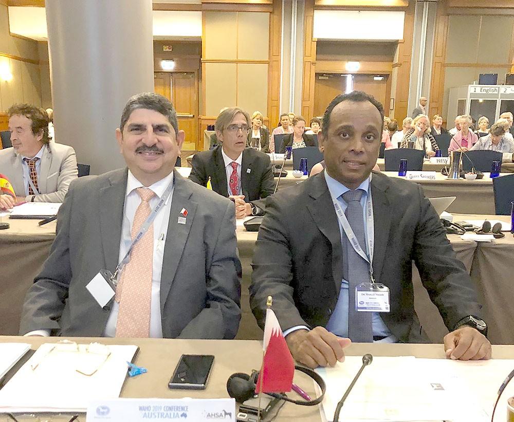 """المؤتمر العام لمنظمة الجواد العربي """"الواهو"""""""