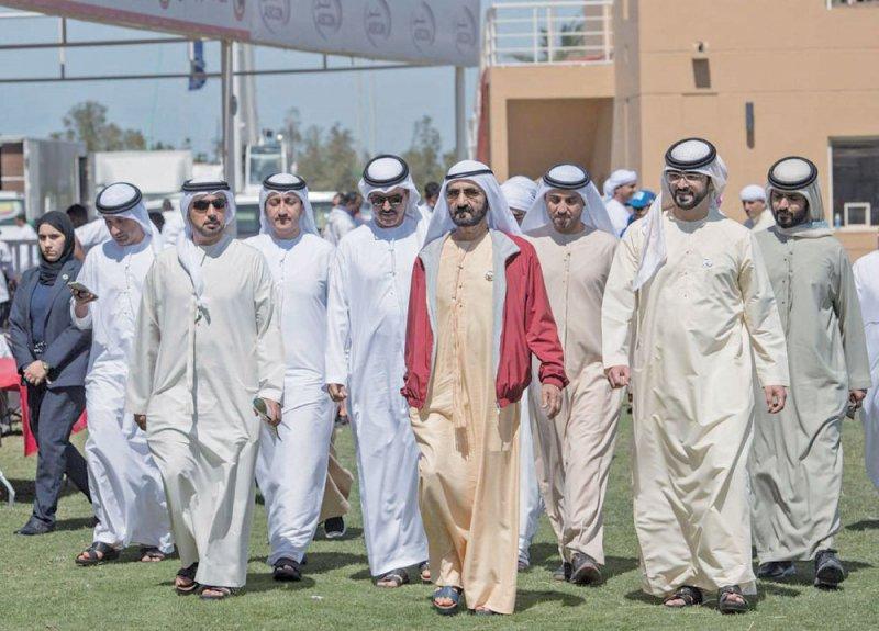 ناصر بن حمد يهنئ عاهل البلاد بنجاح كأس جلالته للقدرة
