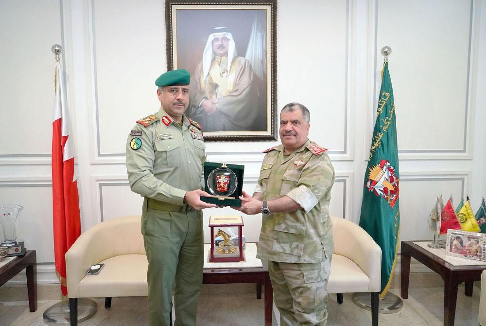 """الحرس الوطني البحريني والكويتي ينفذان """"تعاون"""""""