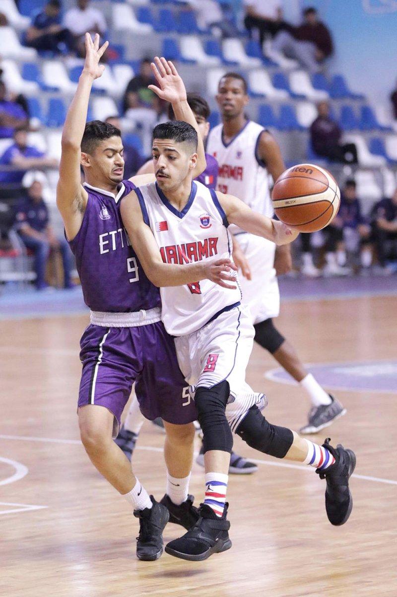 تأهل المنامة والمحرق لنهائي دوري شباب السلة