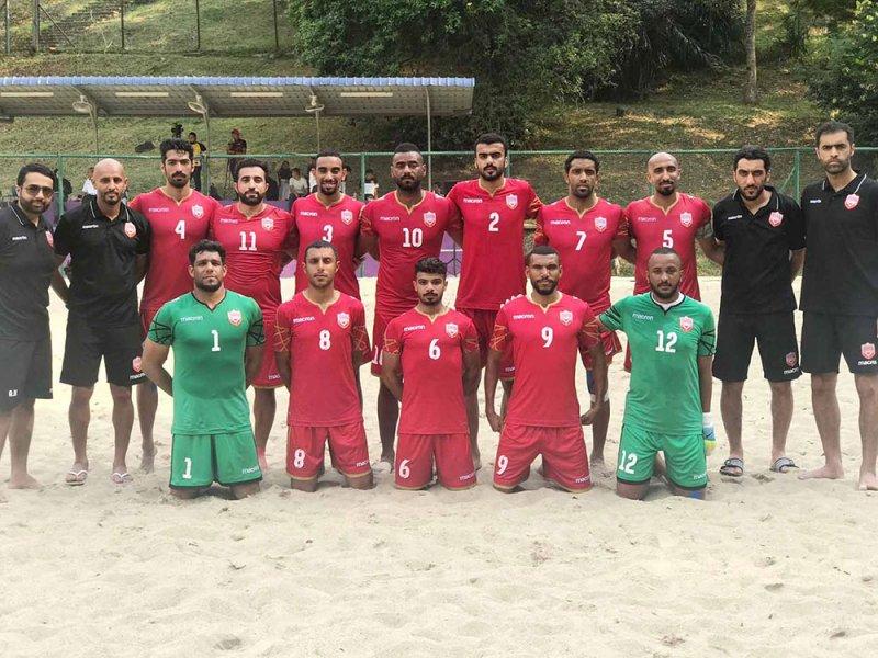 منتخب الشواطئ يواجه عمان