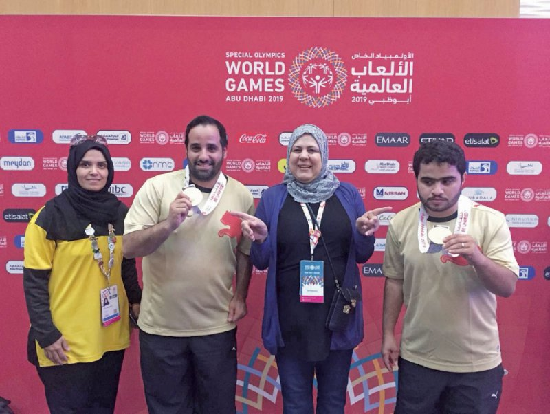 يوم السعادة بحريني في عالمية الأولمبياد الخاص بأبوظبي
