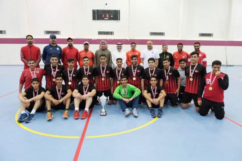 تتويج أحمد العمران ببطولة كرة اليد